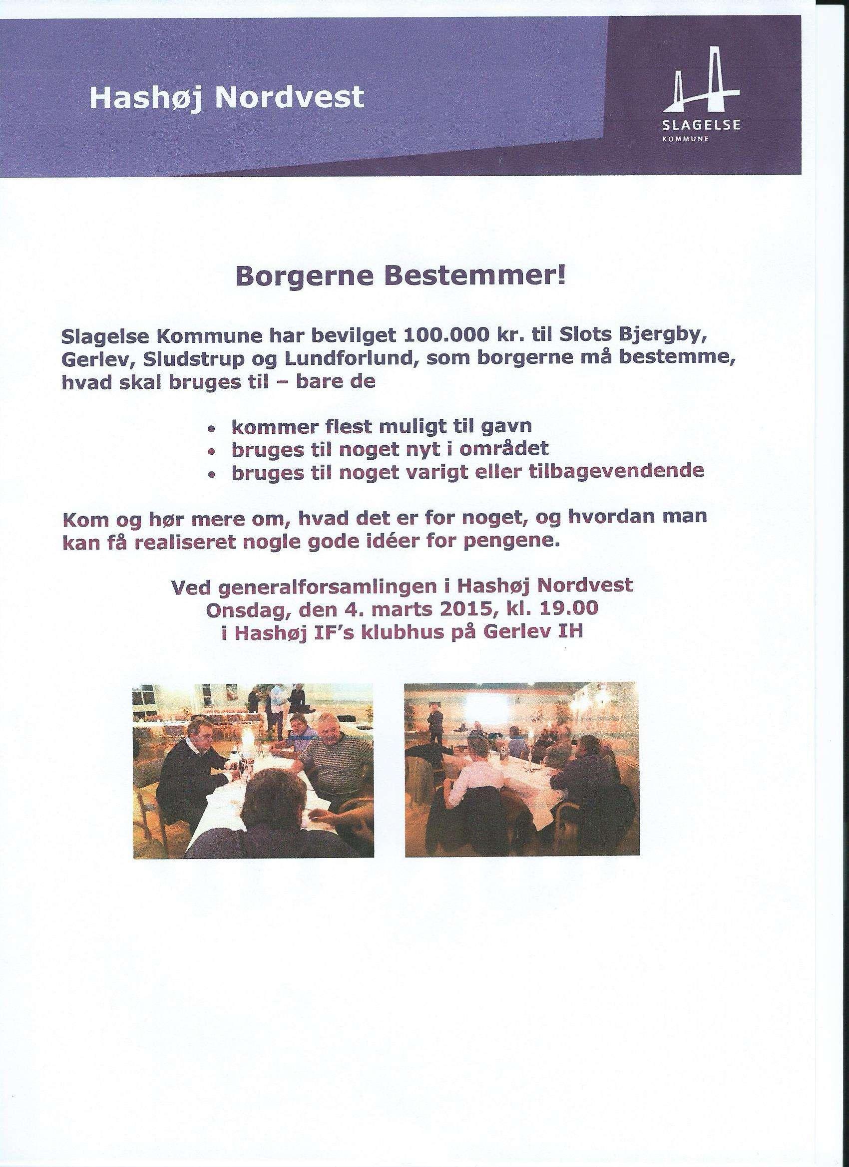 Borgerne bestemmer over 100.000 kr. i Hashøj Nordvest